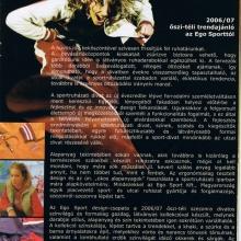 2006/07 őszi-téli trendajánló az Ego Sporttól